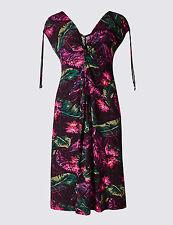 Marks & Spencer Floral Print cool Beach/Sun Dress 10 / 12 / 14/ 16 /18