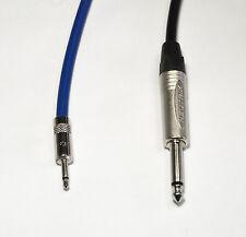 """Neutrik Mono 3.5mm Mini Jack NYS226 to Mono NP2X 1/4"""" Jack Van Damme Cable"""