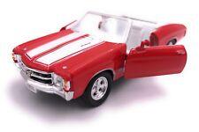 1971 Chevrolet Chevelle Ss 454 Modellino Auto Auto Licenza Prodotto 1:3 4-1:3 9