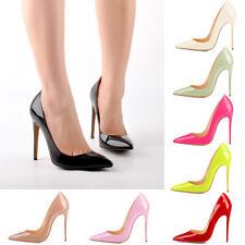 Onlymaker Womens Sexy Pointed Toe Stilettos High Heel Bridal Club Wedding Pumps