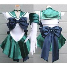 Sailor Moon Neptune Kaiou Uniform Costume Cosplay Dress Anime Manga
