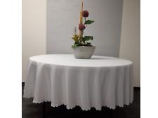 weinrot INT 531401 Tischdecke für runden Tisch Durchmesser 180cm Tischhusse