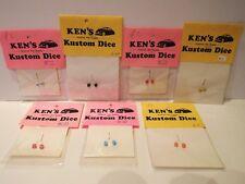 KEN'S KUSTOM DICE 1:24 1:25 PLASTIC MODEL KIT ACCESSORIES ALL COLOURS MOC (KS38)