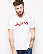 T-Shirt Giappone Samurai giapponese Fuji Hinomaru Stampato Souvenir Regalo Graphic Tee T