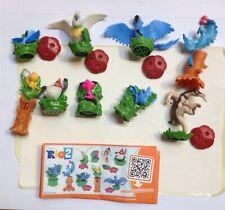 Kompletter Figuren Satz RIO 2 Dschungelfieber Kinder Joy KPS + alle 9 BPZ (IT)