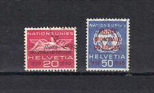 P4452  - SVIZZERA 1960 - EMISSIONE  POSTA DI SERVZIO  - USATI - SERIE COMPLETA