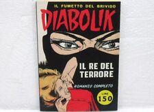 DIABOLIK n° 1 IL RE DEL TERRORE RISTAMPA ANASTATICA ALLEGATO AL N°4 7/94-EDICOLA
