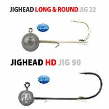 Spro Gamakatsu Jigkopf Long & Round Jighead 22, Round Jighead HD 90  Gr. 2 - 8/0