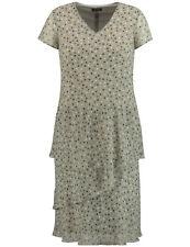 Samoon Midi-Kleid mit schwingendem Rockteil by Gerry Weber Tupfen Neu Damen Gr.