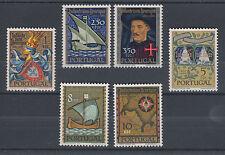 Portugal Sc 860-865 MNH. 1960 Prince Henry the Navigator's Death, cplt set