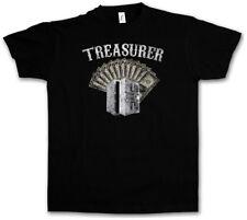 Treasurer PATCH T-Shirt Live to ride biker SAMCRO Rocker Club soa 1%