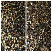 "Animal Print Sequin One way stretch dress fabric 55"" Wide M636 Mtex"