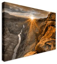 Lienzo Grande Gran Cañón de Arizona puesta de Sol Naranja De Pared Arte Impresión