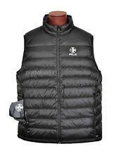 Ralph Lauren RLX New $195  Men's Big & Tall Explorer Down Vest Black Solid NWT