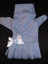 Cornflower Blue Turtleneck Knit Dress Dog Puppy Teacup Pet Clothes XXXS - Large