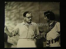 1963 Candid Director Joseph L Mankiewicz Cleopatra VINTAGE PHOTO 267P