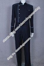 Battlestar Galactica Cosplay William Adama Costume Uniform With Blue Trim