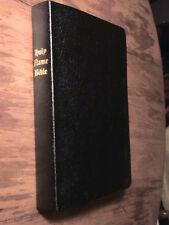 HOLY NAME BIBLE YAHWEH-ELOHIM-YAHSHUA NEW BLACK COVER IN BONDED LEATHER