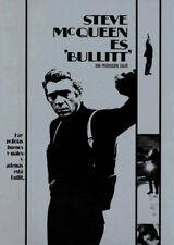 Bullitt Steve McQueen movie poster print