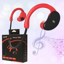 2x Wireless Bluetooth Headset Sport Stereo Headphone Earphone for iPhone Samsung