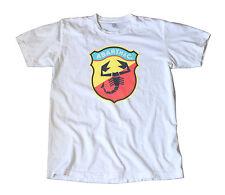 Vintage Abarth Italian Racing Decal T-Shirt - Porsche, VW, Alfa Romeo