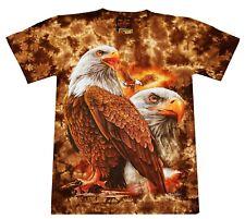 AIGLE T-shirt Aigle, taille S M L, Weisskopf Pygargue à queue blanche, Indien Biker Eagle rider