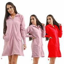 Women's Hooded Neck Fleece Bench expired Ladies Sweat Hoodie Jacket Long Top