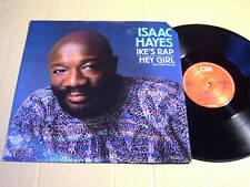 """ISAAC HAYES - IKE'S RAP / HEY GIRL - 12"""" VINYL MAXI"""