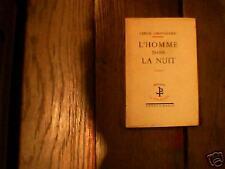 Serge GROUSSARD: l'homme dans la nuit