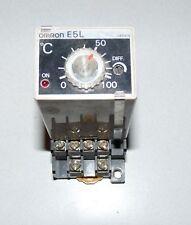 OMRON E5L-AX MANUAL TEMPERATURE CONTROLLER THERMOSTAT