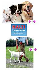 GENUINE HALTI DOG Head Collar NO PULL Slip Training HeadCollar STOP PULLING NEW!