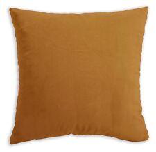 Mf46a Light Ginger Brown Silky Soft Velvet Cushion Cover/Pillow Case Custom Size