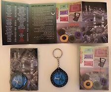 islamic key ring muslim qiblah kaba mecca makkah gift camping scouts compass new