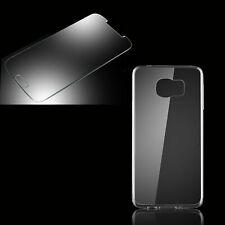 Silikon Schutz Hülle Handy Tasche für Samsung Galaxy Glas PANZER FOLIE Case Tria