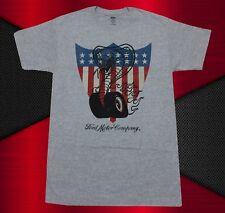 New Ford Motors Company Cobra Americana Shield Mens Vintage Classic T-shirt
