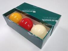 REAL Aramith Premier Billiard Ball Set 2 & 1/16 inch Tri Colour Set Local Seller
