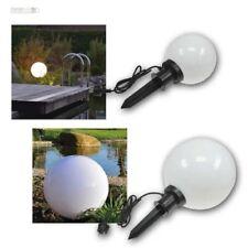 Luce sferica lampada per esterni da giardino IP44 rotonda CHIODI