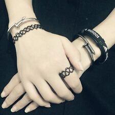 Fashion Jeweller Bracelet Open Bangle - Choose from 7 Stacking Punk Design JFB10