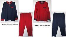 NUOVO TAGLIE FORTI UOMO PIGIAMA maglietta con pantaloni 2 Modelle 56 TGL / 58,