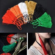 "Hotesale 100pcs 5"" Sewing Tassel Fringe Decor Curtain Garment Chainette Trimming"