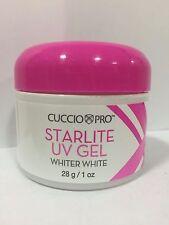 Cuccio Pro StarLite Sculpting UV Nail Gel CLEAR PINK Whiter White 1oz(28g)