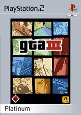 Grand Theft Auto III GTA 3 Platinum PS2 Playstation 2 USK 18