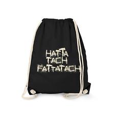 Hatta Tach Fattatach Turnbeutel Beutel Rucksack Spruch Vatertag Herrentag Lustig