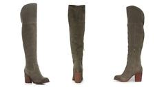 Splendid Loretta Womens Boot Over The Knee Boots High Heel Boots Smoke 6, 6.5, 7