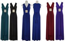 **BNWT Ladies women Long Evening Stretch Maxi Dress Size S/M L/XL   8_10_12_14**