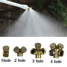 Hole Brass Spray Misting Nozzle Sprinkler Head Garden Farm Irrigation System