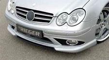 Mercedes Genuine Rieger Brand OEM 2003-2009 W209 CLK Class Front Sport Bumper