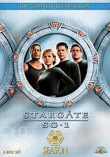 Stargate SG-1 - Season 10 (DVD, 2009, 5-Disc Set)