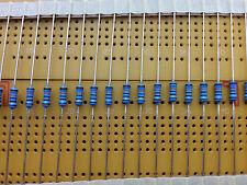 10x 0.6W 1% Metal Film Resistor axial todos los valores cantidad de múltiples