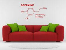 Dopamina Wall Art Sticker, Decalcomania in PVC, trasferimento in vinile.